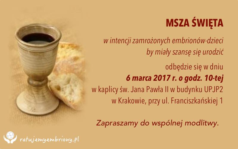 Msza - marzec