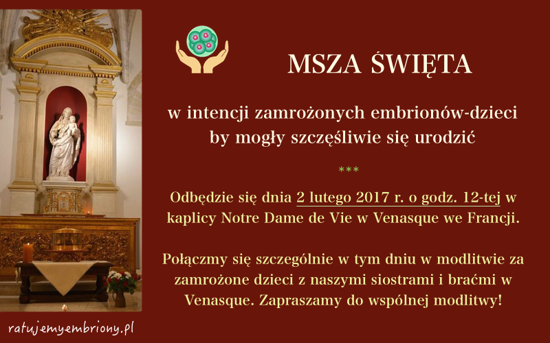 Msza luty 2017